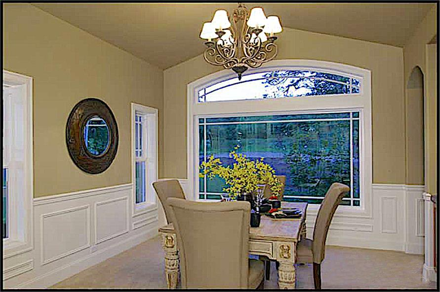 Dining Room of this 4-Bedroom,4100 Sq Ft Plan -4100