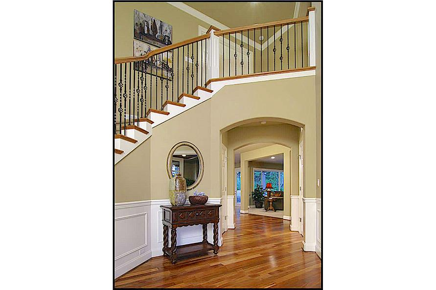 Entry Hall: Staircase of this 4-Bedroom,4100 Sq Ft Plan -4100