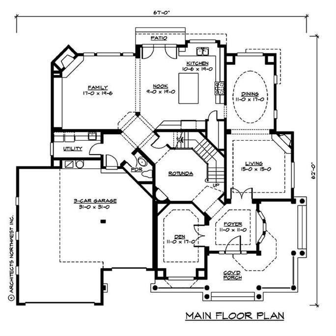 Craftsman House Plans - Home Design CD 4060 # 9352