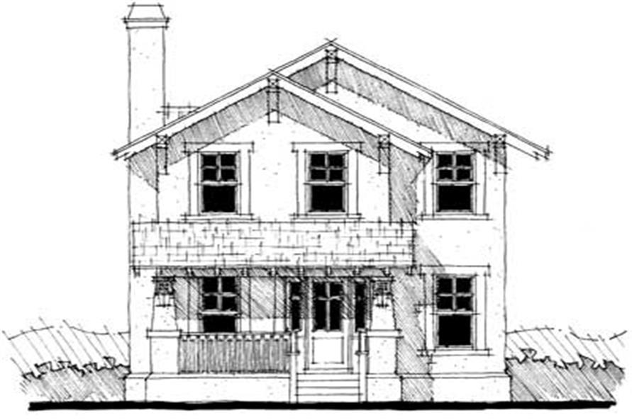 116 1000 Main Image For Craftsman House Plans