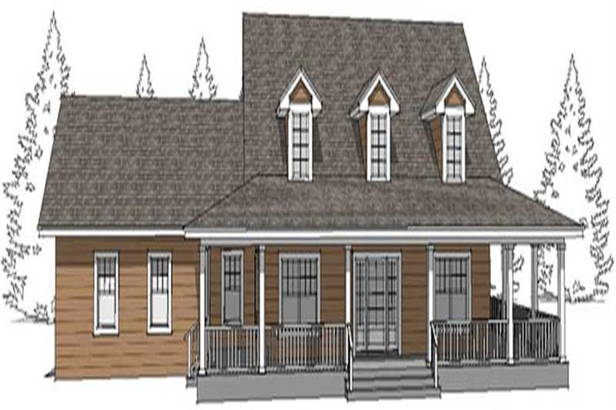 Main image for country house plans DT-0054