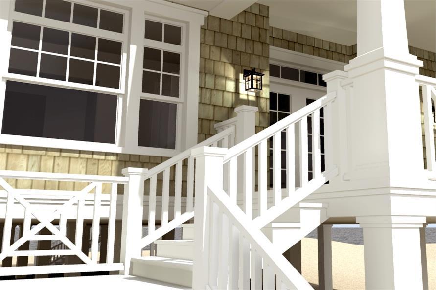 Front Door of this 3-Bedroom,2621 Sq Ft Plan -2621