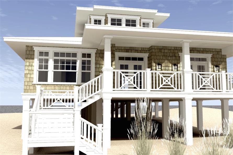 Home Plan Rendering of this 3-Bedroom,2621 Sq Ft Plan -2621