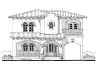 Main Image for mediterranean house plans # DT-0053