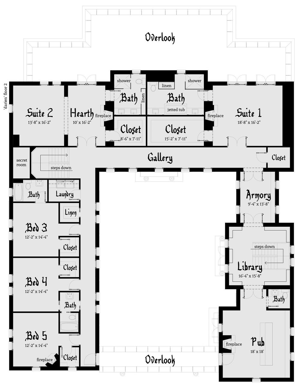 free castle house plans medieval castle house plans download