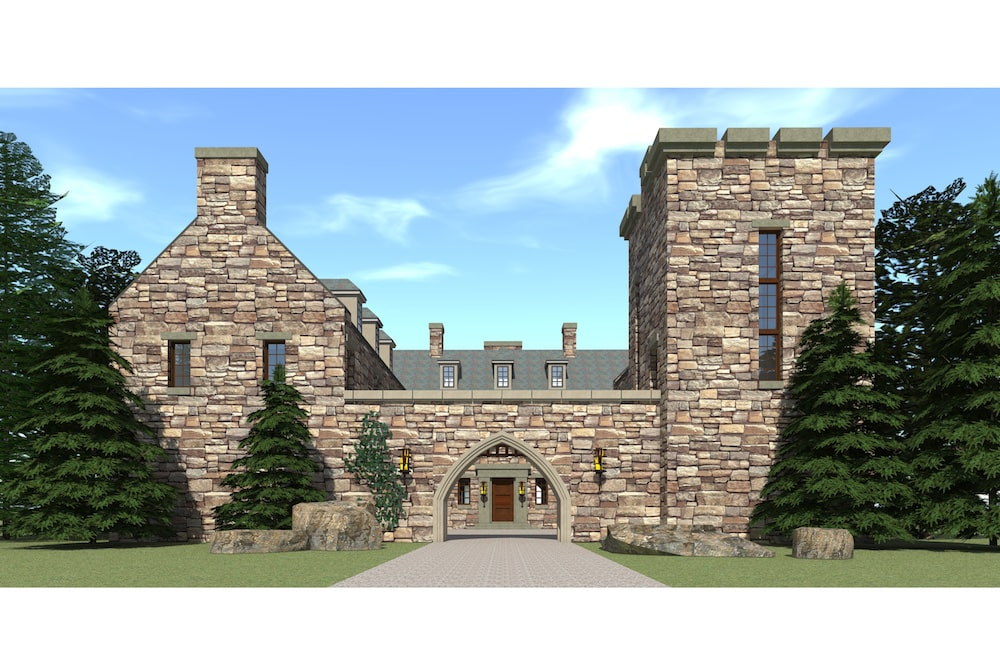 Scottish Castle House Plan with Tower - #116-1010, 5 Bedrms on wood castle plans, ancient castle floor plans, scottish castle floor plans, castle house plans, concrete castle plans, log castle plans, scottish mansion house plans,
