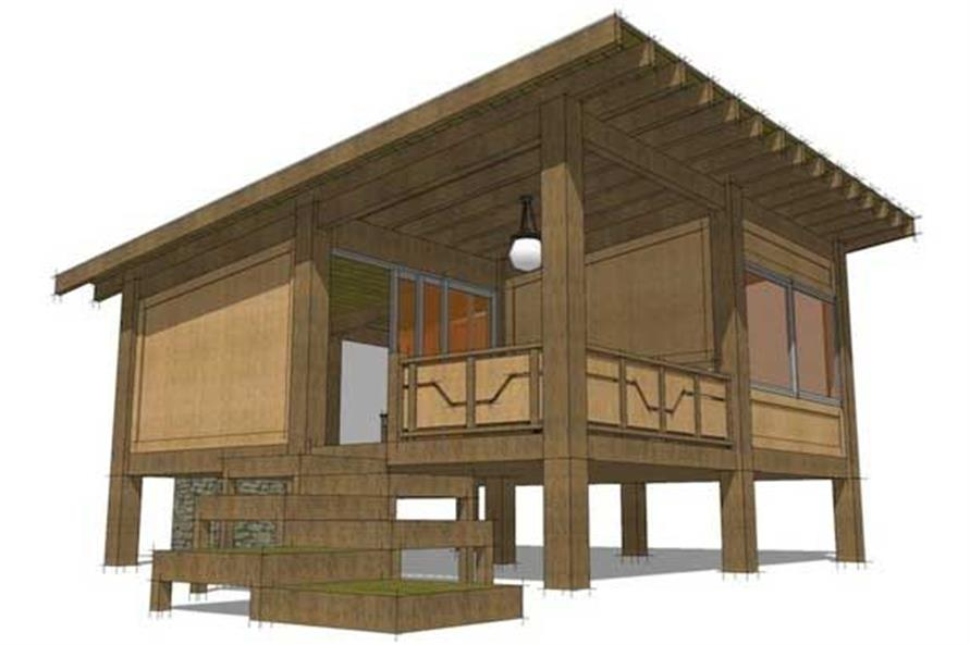Modern getaway plans home design enotah for Theplancollection com modern house plans