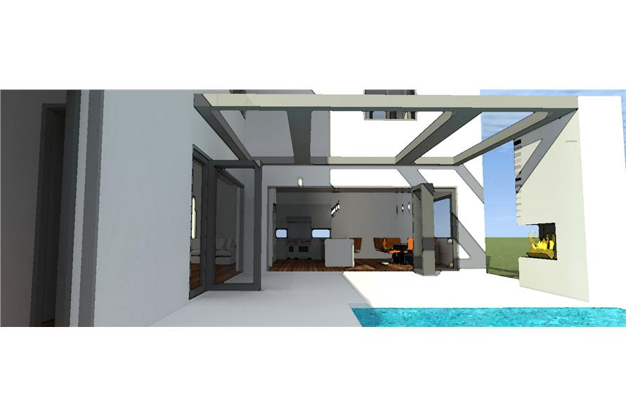 116-1015: Home Plan Rendering