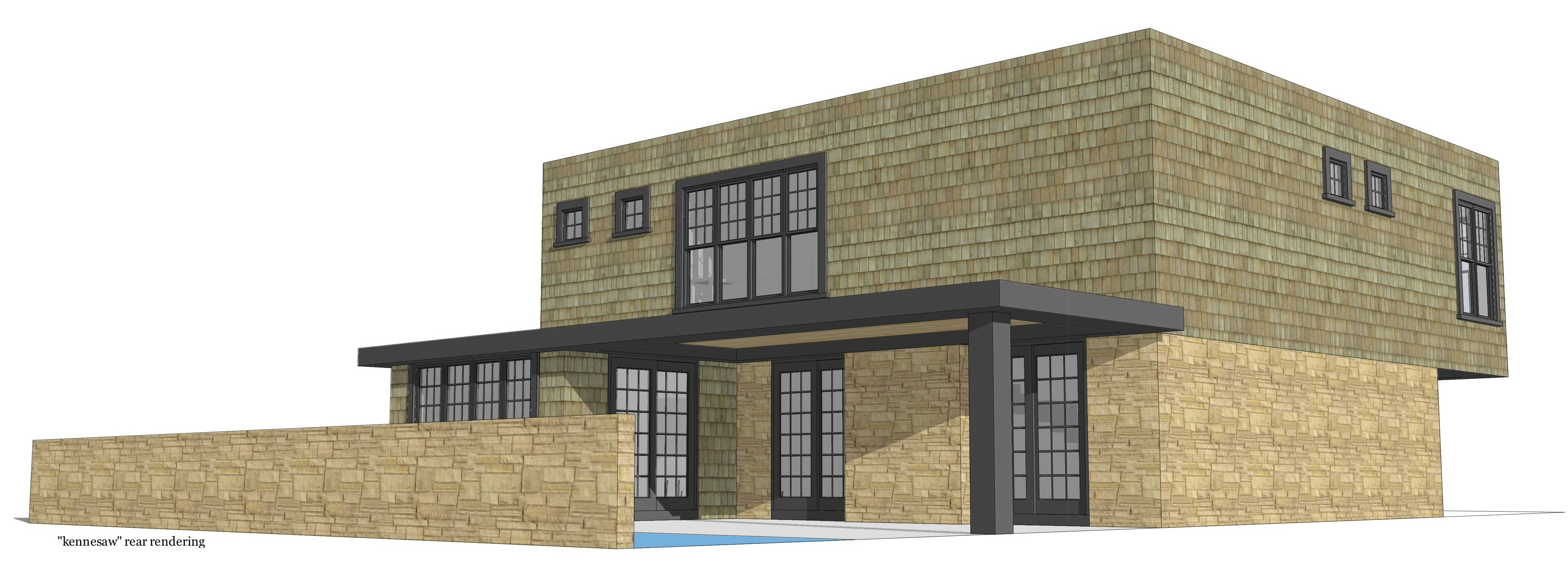 Modern House Plans Home Design Kennesaw