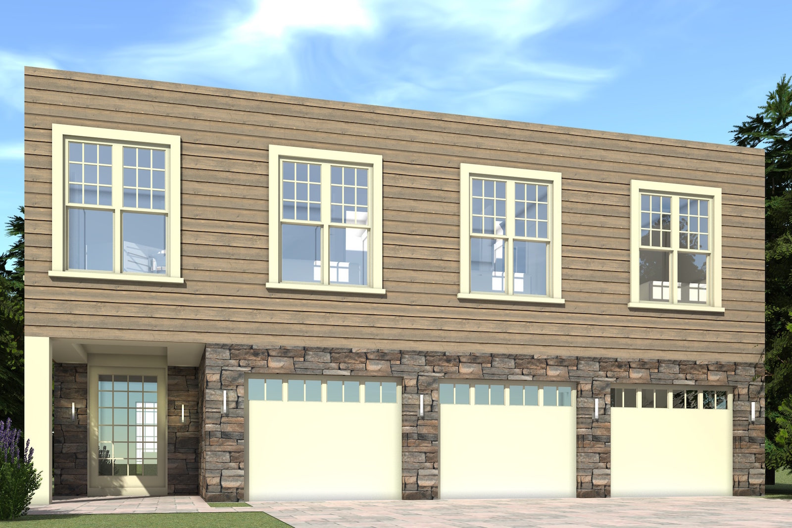 5 Bedrm 3000 Sq Ft Modern House Plan 116 1018
