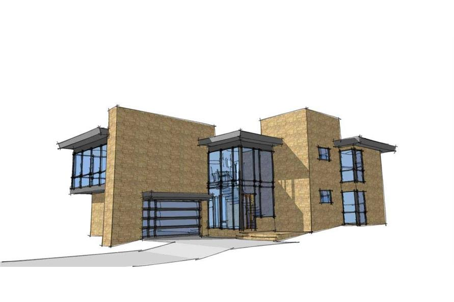 Modern house plans home design skiatook Design your house plans