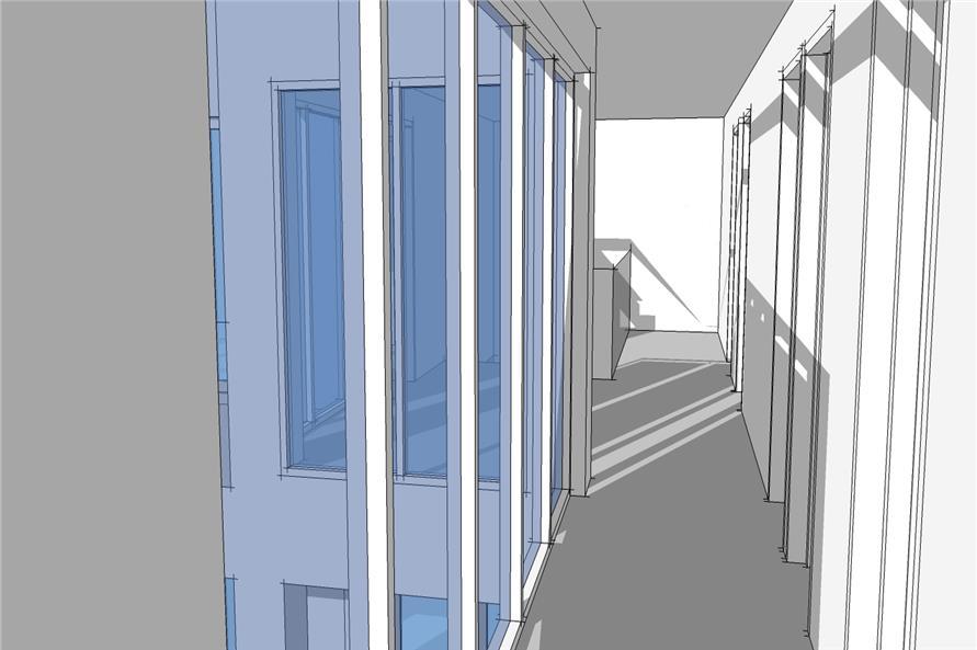116-1032: Home Interior Photograph_upstairs hall