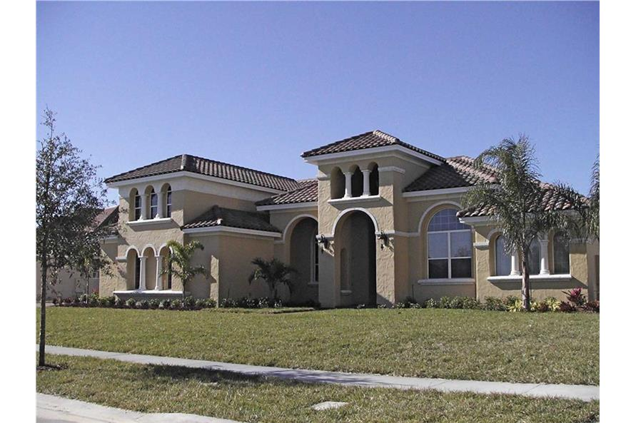 Mediterranean house plans 4 bdrm 4271 sq ft home for 3000 sq ft mediterranean house plans