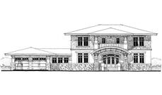 Main image for house plan # 9955
