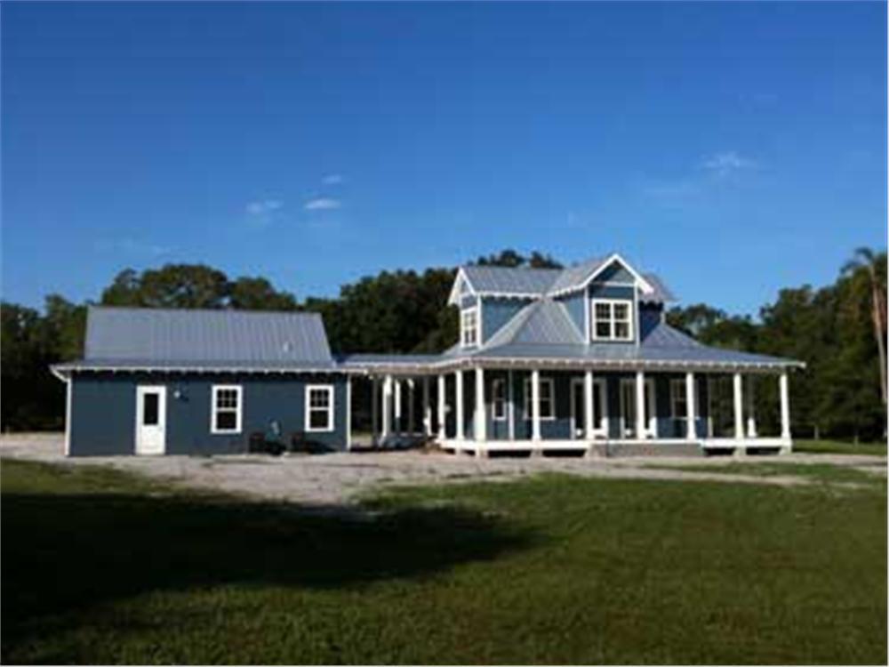2 bedrm 1527 sq ft coastal house plan 116 1043 for Florida cracker house plans wrap around porch