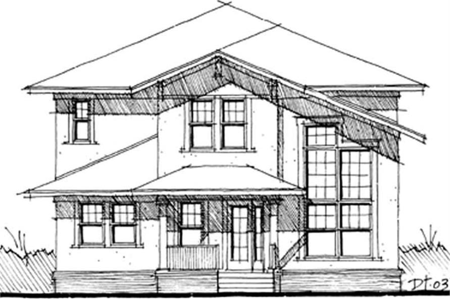 Main image for house plan # 9946