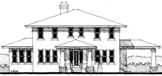 Main image for house plan # 9944