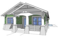 Main image for house plan # 9937