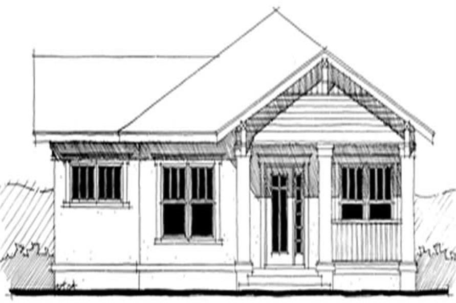 Main image for house plan # 9935