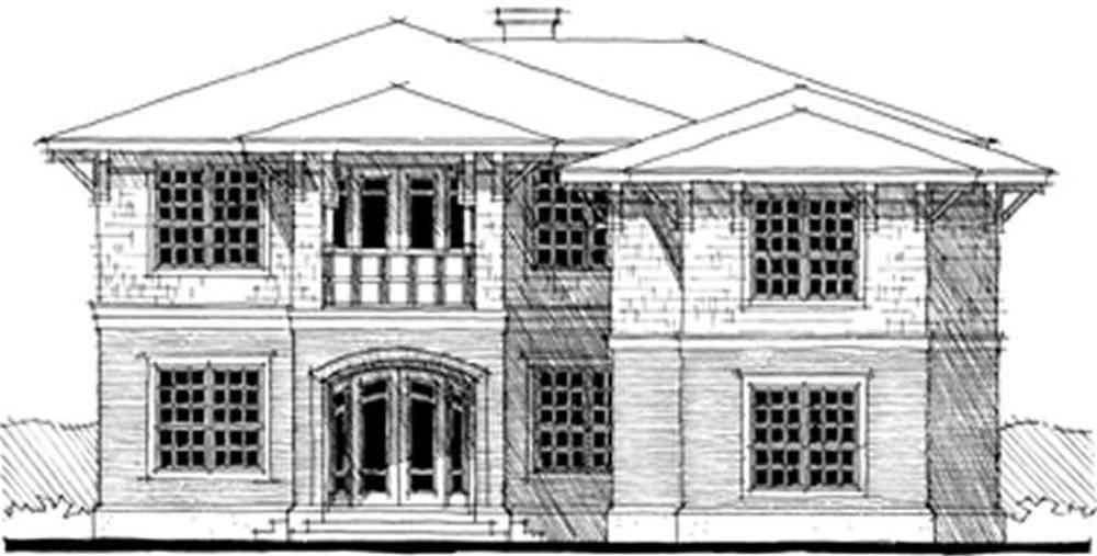 Main image for bungalow houseplans # 9958