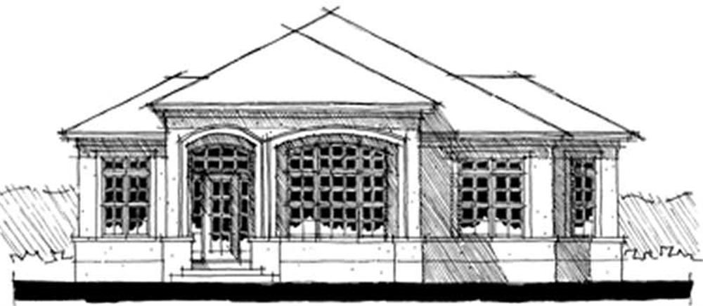Main image for house plan # 9957