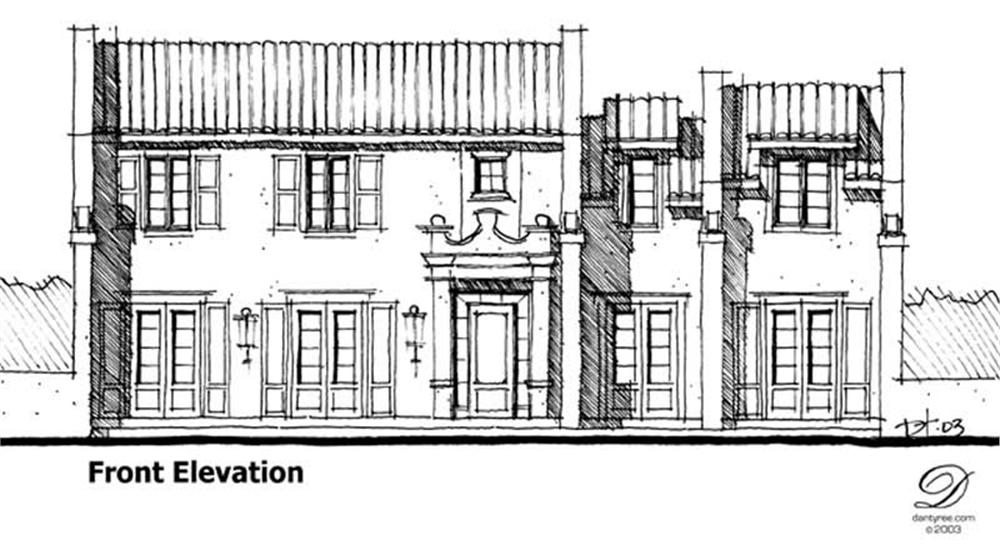 Main image for house plan # 9945