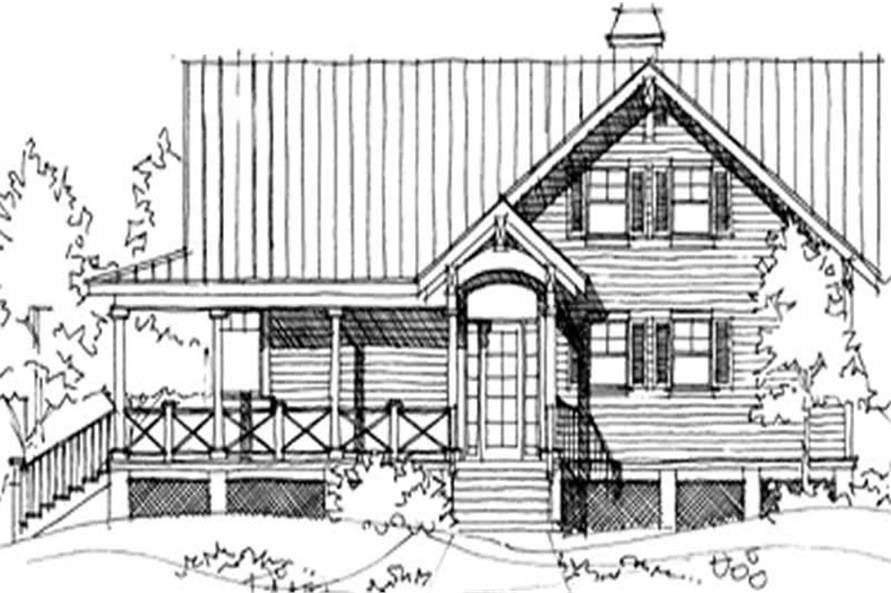 Main image for house plan # 9939