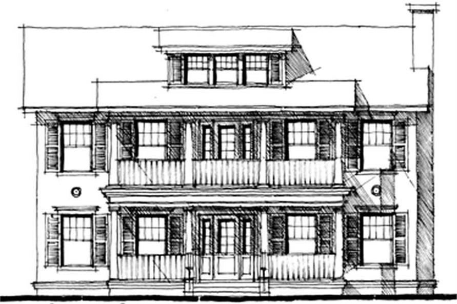 Main image for house plan # 9950