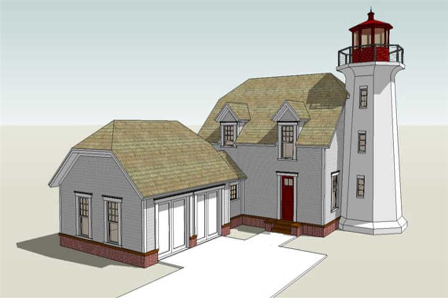 Cape cod house plans lighthouse plans for Lighthouse home plans