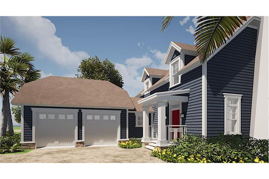 Garage of this 3-Bedroom,2082 Sq Ft Plan -116-1073