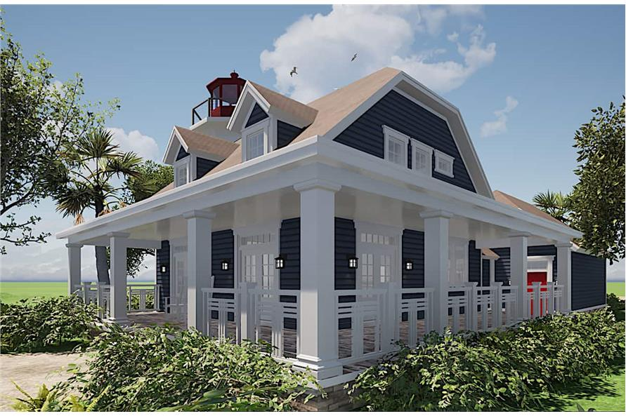 Porch of this 3-Bedroom,2082 Sq Ft Plan -116-1073