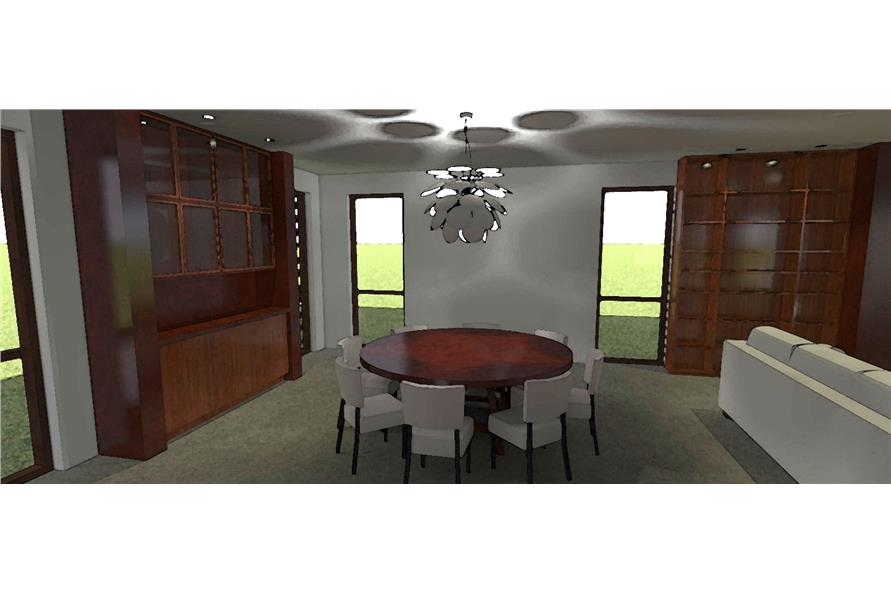 Dining Room of this 4-Bedroom,3100 Sq Ft Plan -3100