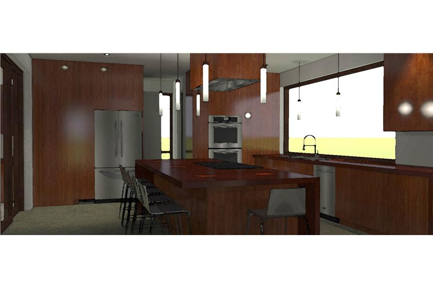 Kitchen of this 4-Bedroom,3100 Sq Ft Plan -3100