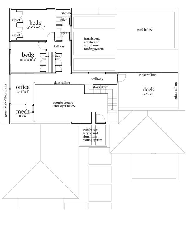 116-1079 house plan second story