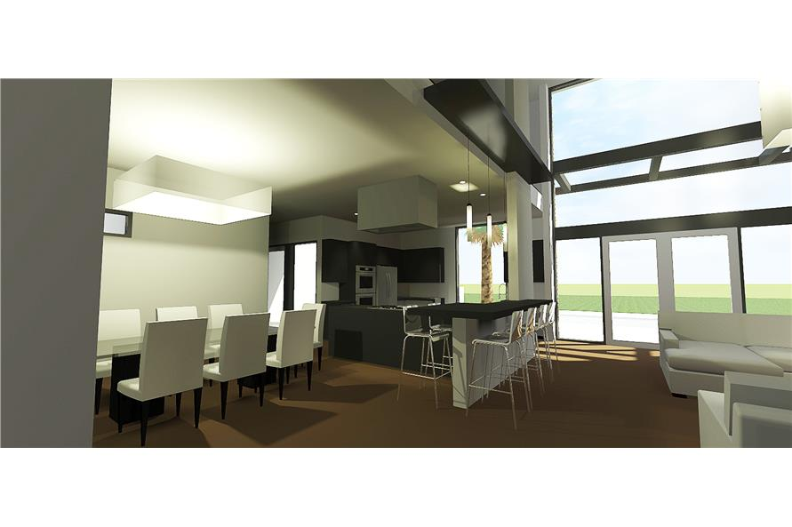 Dining Room of this 4-Bedroom,3885 Sq Ft Plan -3885