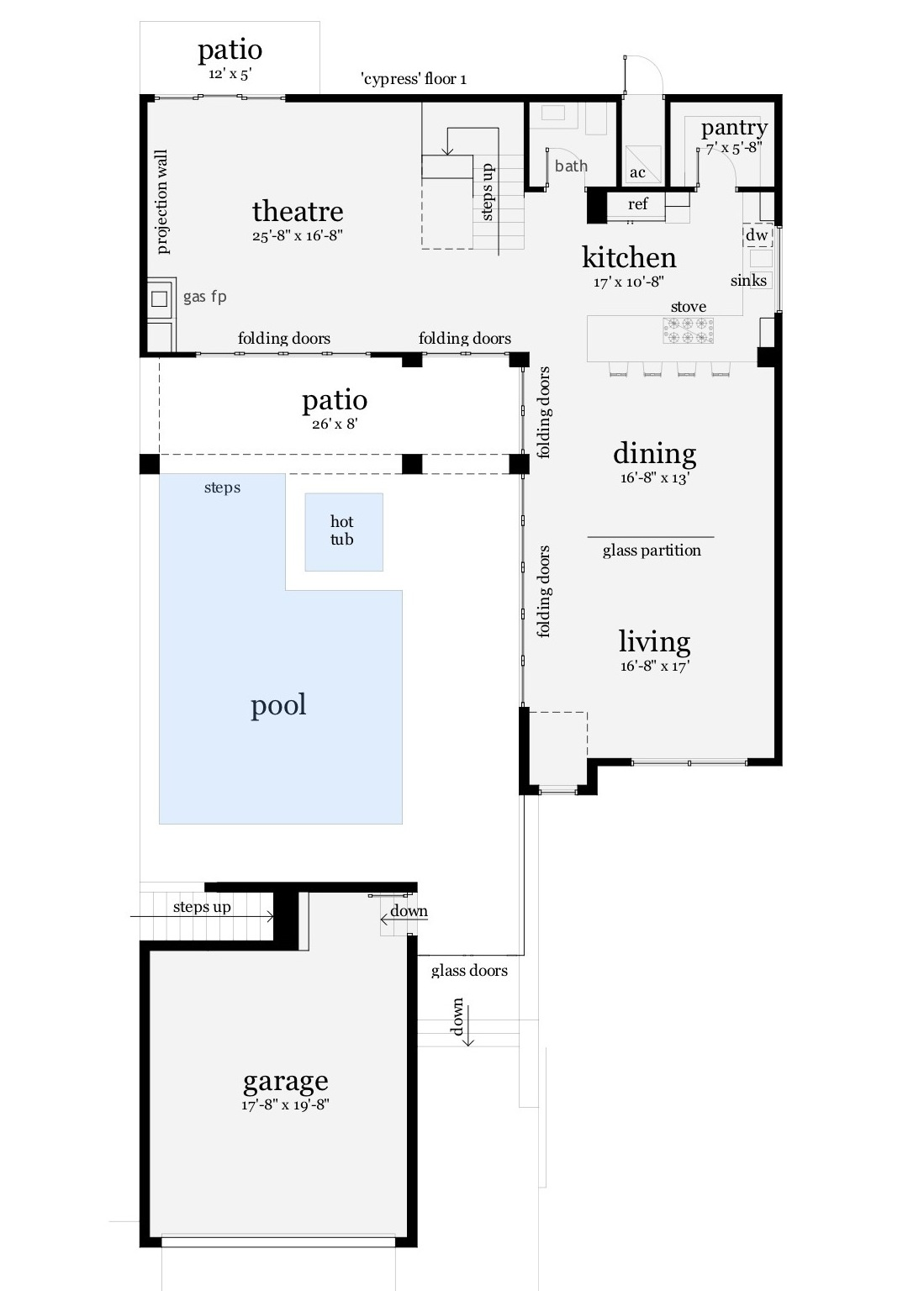 116-1081: Floor Plan Main Level