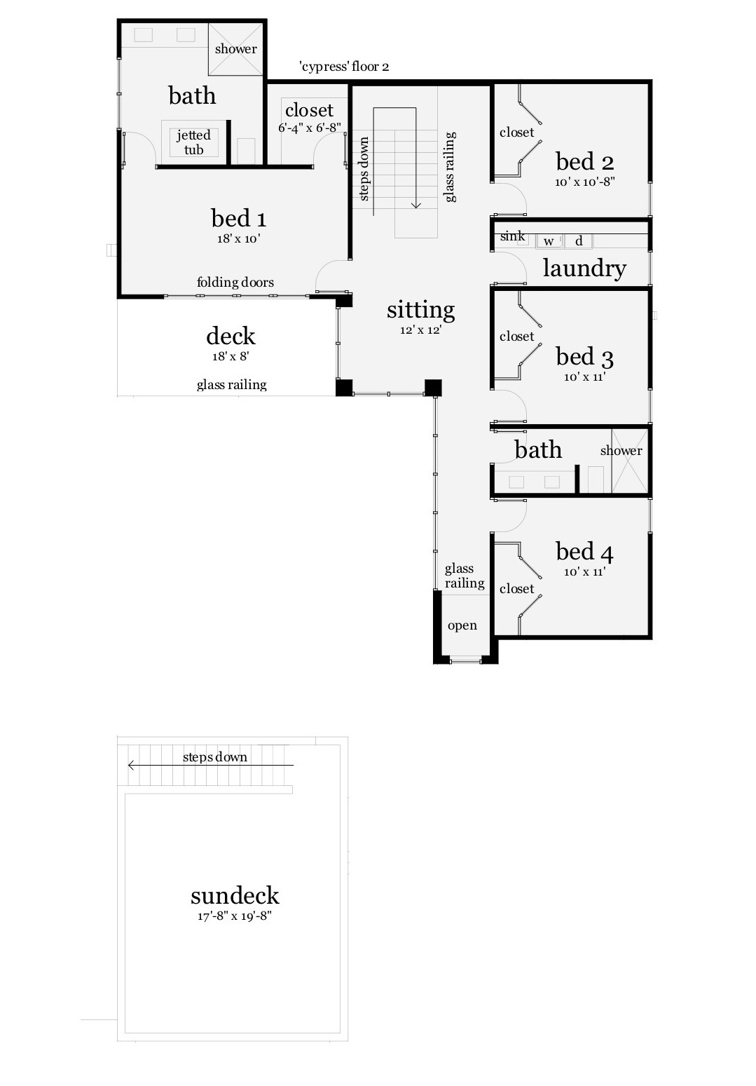 116-1081: Floor Plan Upper Level