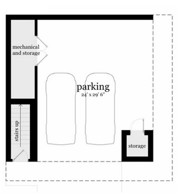 116-1082: Floor Plan Basement