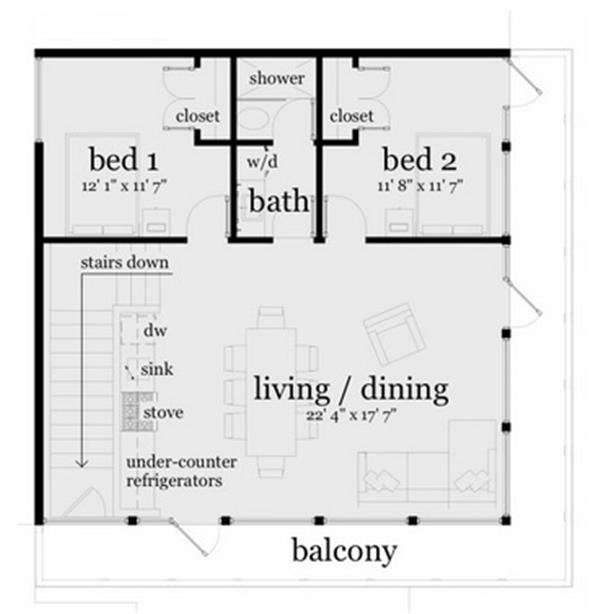 116-1082: Floor Plan Main Level