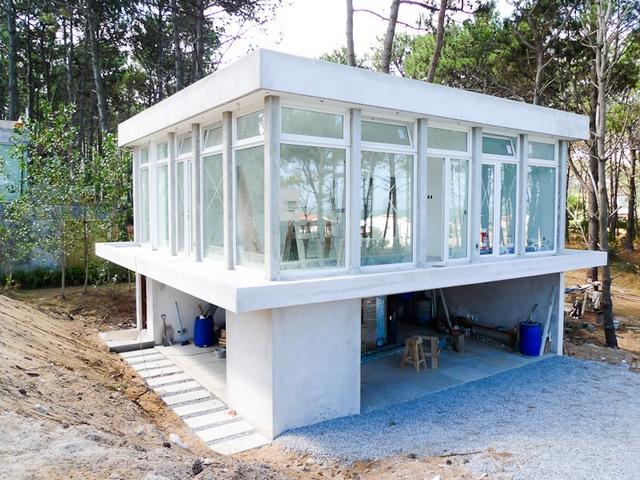 Concrete Block Icf Design Modern House Plans Home