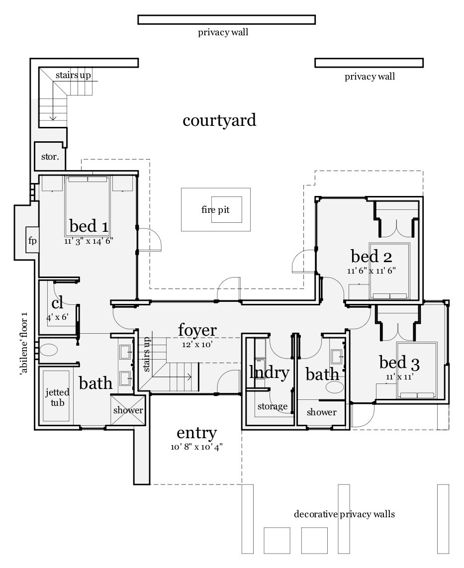 Contemporary house plan 116 1084 3 bedrm 1923 sq ft for Plan collection modern house plans