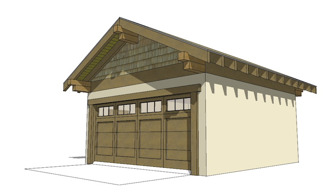 Arts and crafts house plan 116 1087 3 bedrm 2080 sq ft for Arts and crafts garage plans