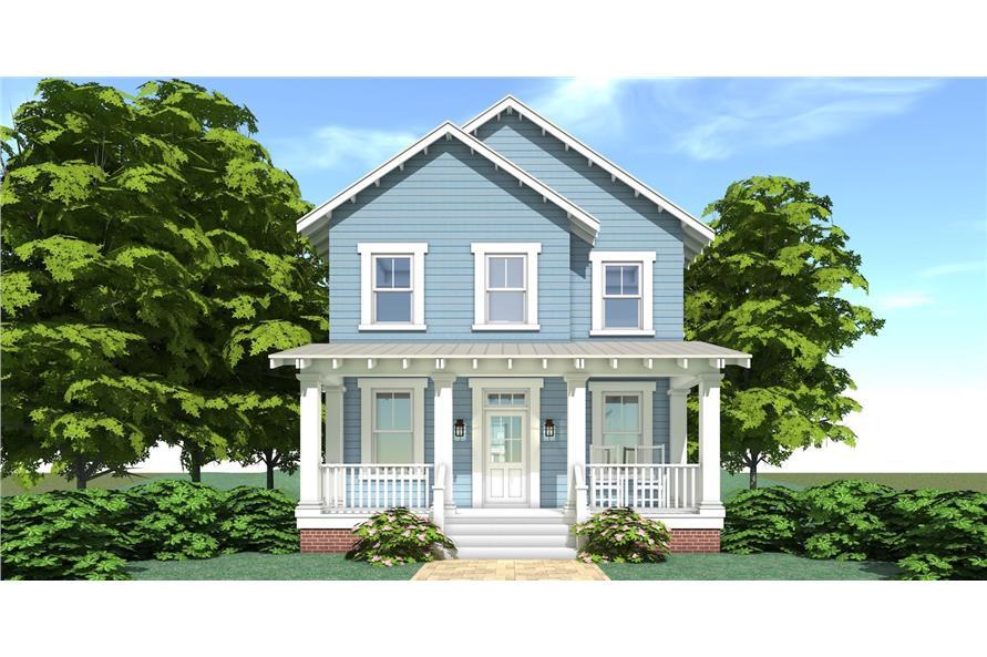 116-1088: Home Plan Rendering