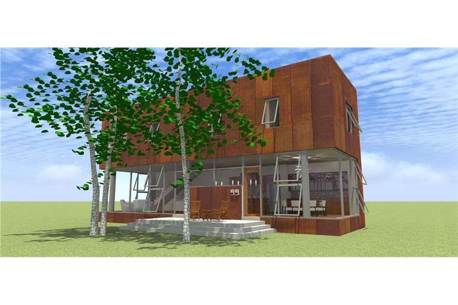 116-1091: Home Plan Rendering