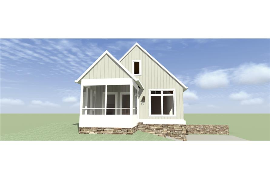 116-1095: Home Plan Left Elevation