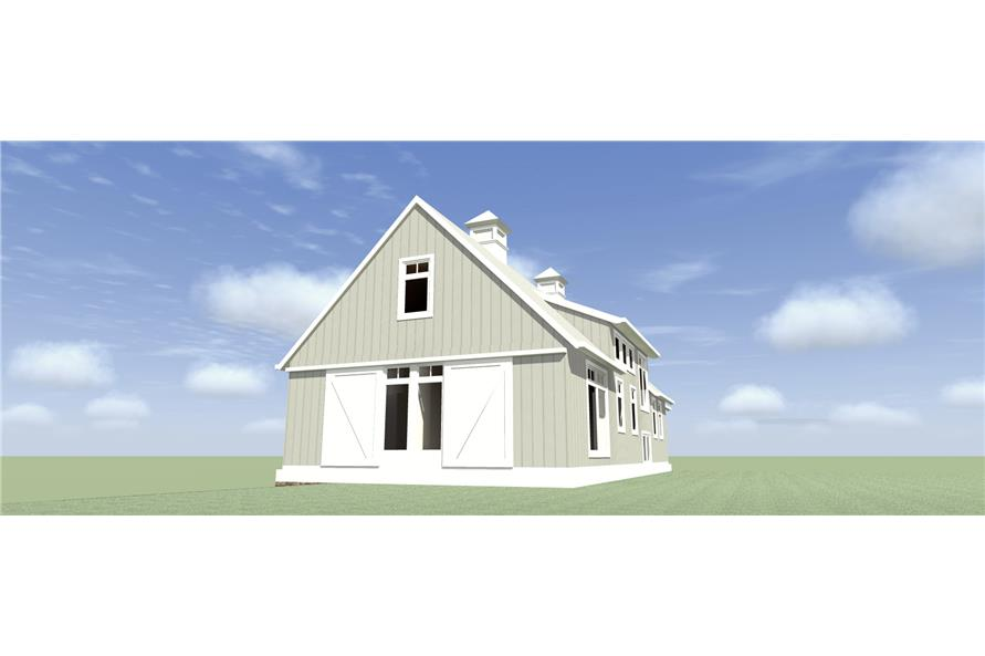 116-1095: Home Plan Right Elevation