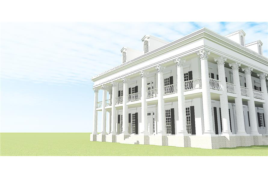 Traditional House Plan 116 1097 3 Bedrm 4500 Sq Ft Home