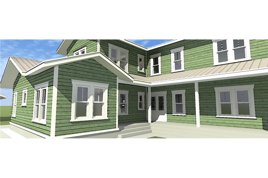 116-1098: Home Plan 3D Image