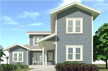 4-Bedroom, 2362 Sq Ft Farmhouse Home Plan - 116-1098 - Main Exterior