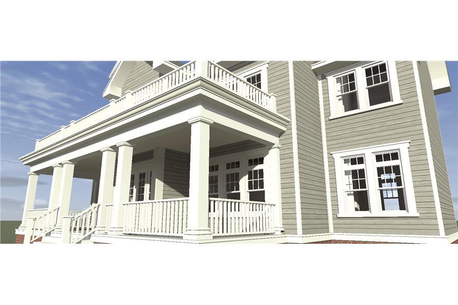 116-1099: Home Plan 3D Image